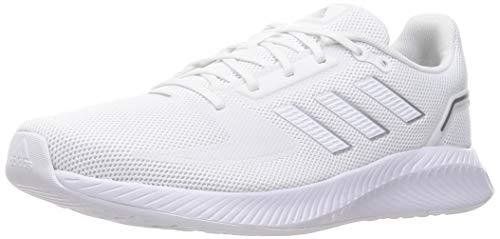 adidas RUNFALCON 2.0, Zapatillas de Running Hombre, FTWBLA/FTWBLA/Plamet, 42 2/3 EU