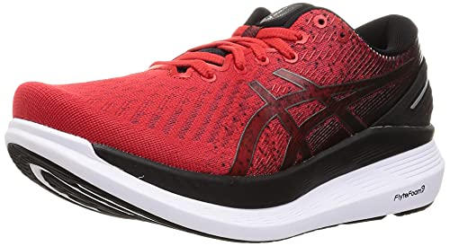 ASICS Glideride 2, Zapatillas de Running Hombre, Electric Red Black, 43.5 EU