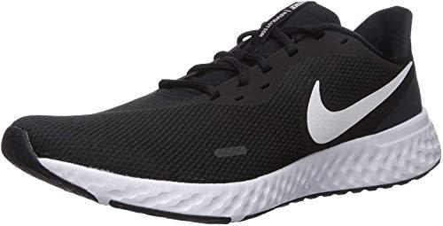 Nike Revolution 5, Zapatillas Hombre, Black/White Anthracite 204, 43 EU