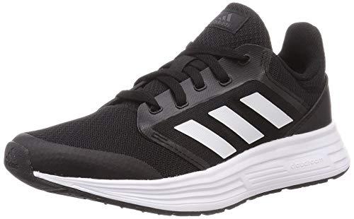 Adidas Galaxy 5, Zapatillas de Correr Mujer, Negro (Core Black/Footwear White/Grey), 39 1/3 EU